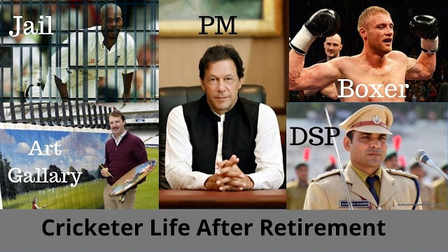 Cricketer life after retirement