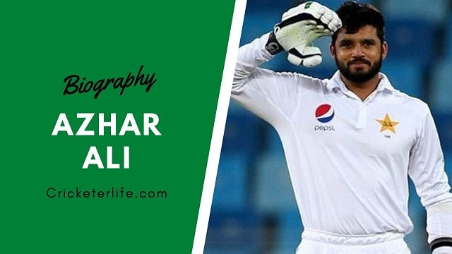 Azhar Ali biography