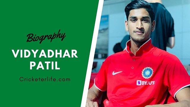 Vidyadhar Patil biography