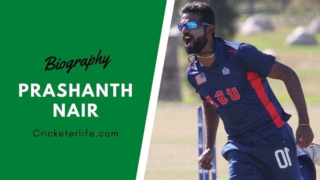 Prashanth Nair biography