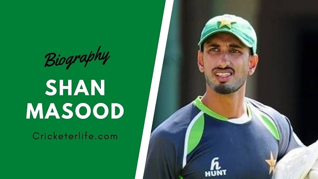 Shan Masood biography