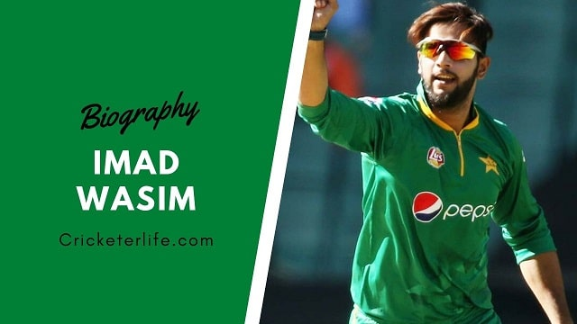 Imad Wasim biography