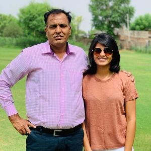 Priya Punia father
