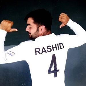 Rashid Khan Shirt number or Jersey number