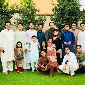 Rashid Khan family