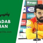 Shadab Khan biography