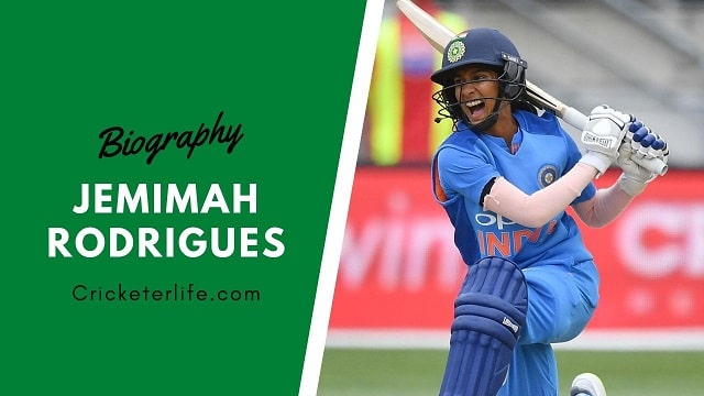 Jemimah Rodrigues biography