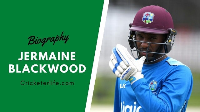 Jermaine Blackwood biography