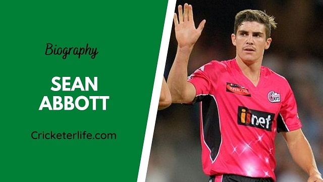 Sean Abbott biography