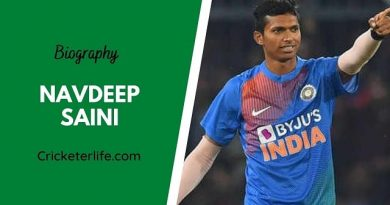 Navdeep Saini biography