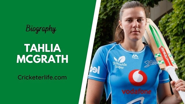 Tahlia McGrath biography