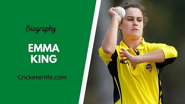 Emma King biography