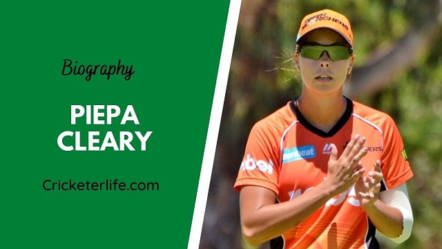 Piepa Cleary biography