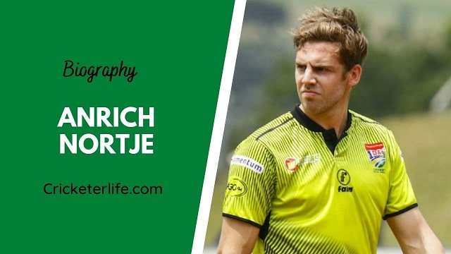 Anrich Nortje biography