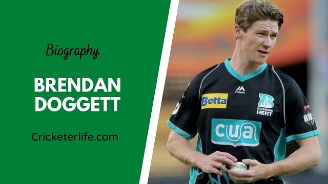 Brendan Doggett biography, age, height, wife, family, etc.