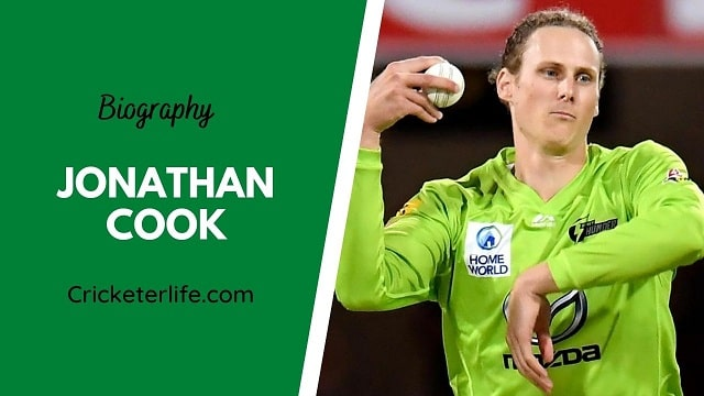 Jonathan Cook biography, age, height, wife, family, etc.