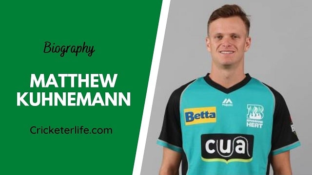 Matthew Kuhnemann biography, age, height, wife, family, etc.