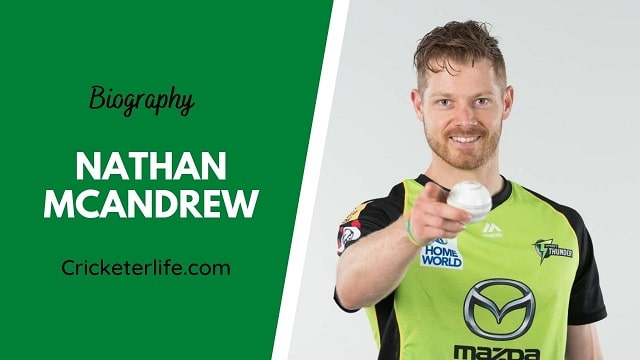 Nathan McAndrew biography, age, height, wife, family, etc.