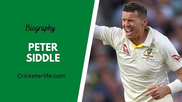Peter Siddle biography