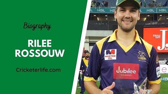 Rilee Rossouw biography