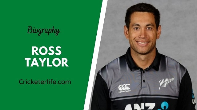 Ross Taylor biography