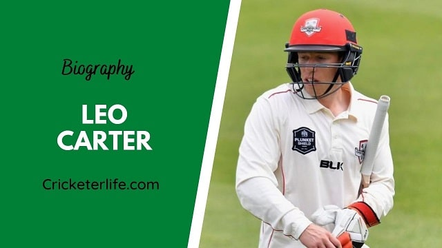 Leo Carter biography, age, height, wife, family, etc.