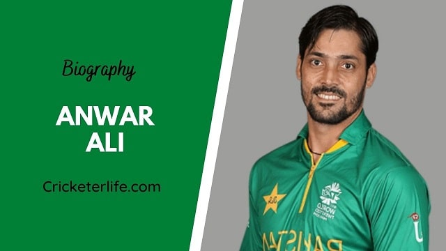 Anwar Ali biography, age, height, wife, family, etc.