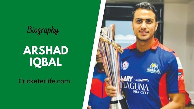 Arshad Iqbal biography, age, height, wife, family, etc.