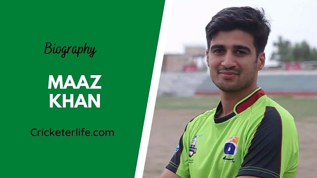 Maaz Khan biography, age, height, wife, family, etc.
