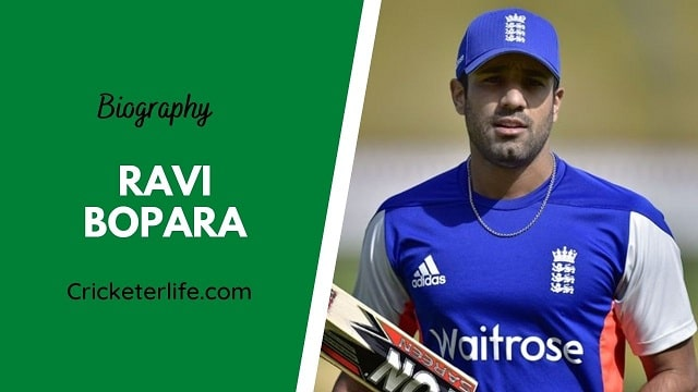 Ravi Bopara biography, age, height, wife, family, etc.