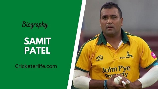 Samit Patel biography, age, height, wife, family, etc.