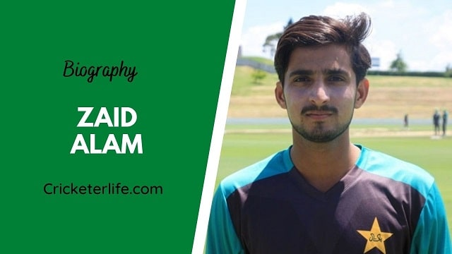 Zaid Alam biography, age, height, wife, family, etc.