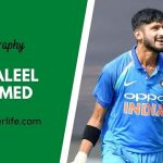 Khaleel Ahmed biography, age, height, wife, family, etc.