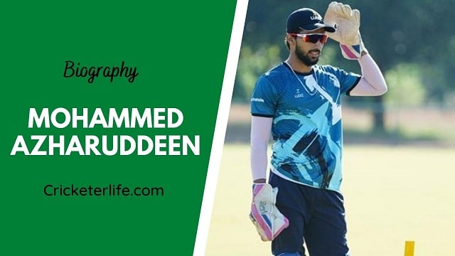 Mohammed Azharuddeen biography, age, height, wife, family, etc.