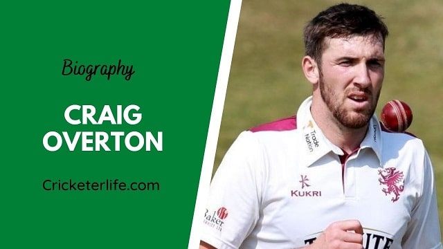 Craig Overton biography, age, height, wife, family, etc.