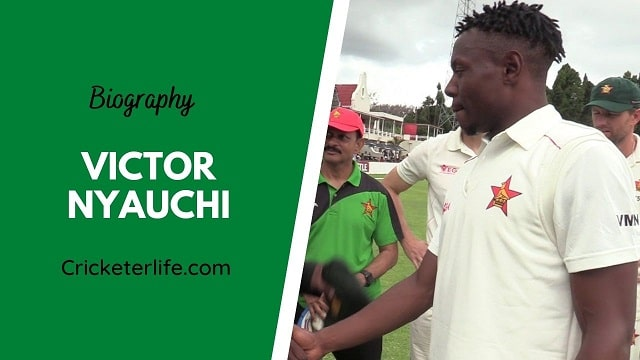 Victor Nyauchi biography, age, height, wife, family, etc.
