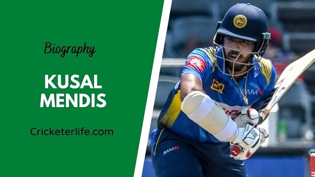 Kusal Mendis biography, age, height, wife, family, etc.