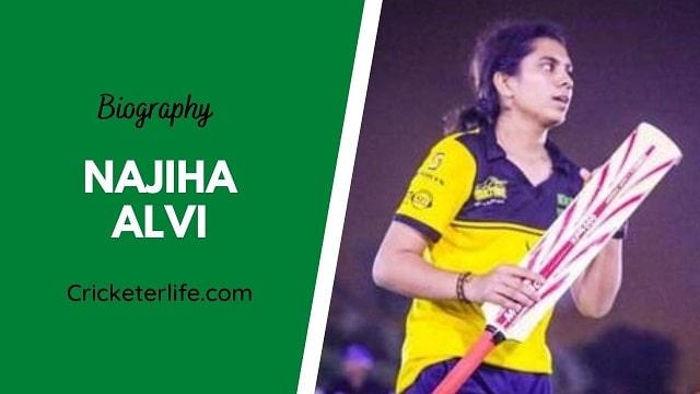 Najiha Alvi biography, age, height, wife, family, etc.